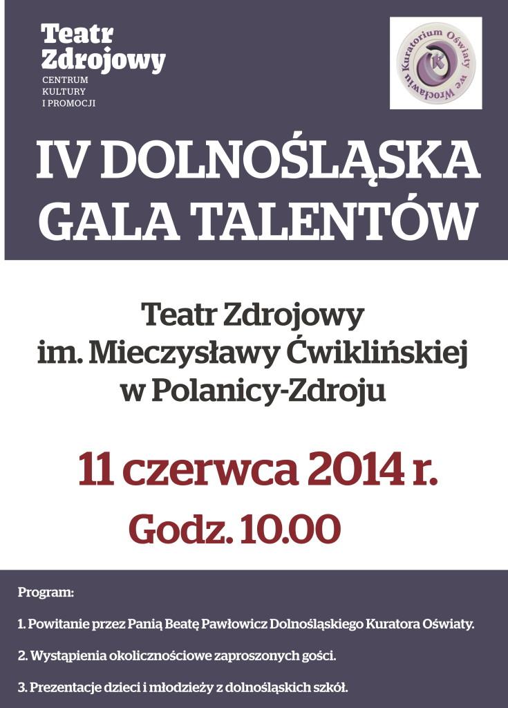 gala talentw_plakat