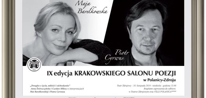 IX edycja Krakowskiego Salonu Poezji