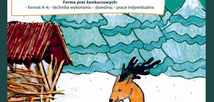Zima w Lesie – konkurs plastyczny