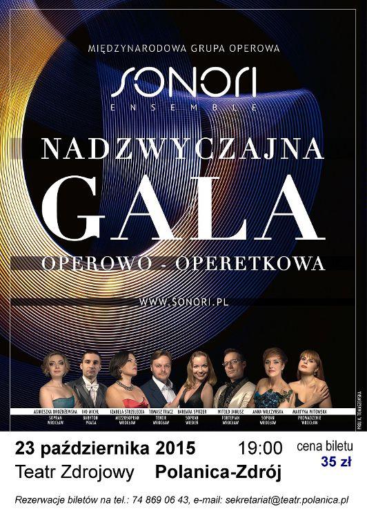 2015-10-23 plakat Gala - Polanica