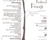 XIII Międzynarodowy Festiwal Poezji Poeci bez granic