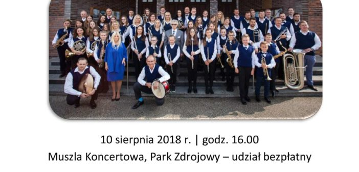 Koncert orkiestry dętej Fermata Band z Nowej Soli