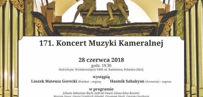 171. Koncert Muzyki Kameralnej