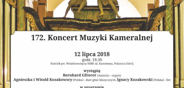 172. koncert Muzyki Kameralnej
