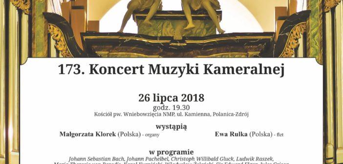 173. Koncert Muzyki Kameralnej