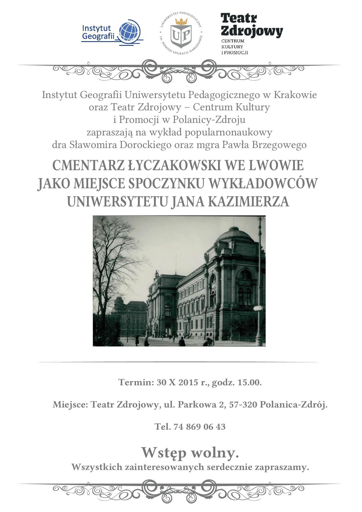Cmentarz_łyczakowski_wykład_Polanica