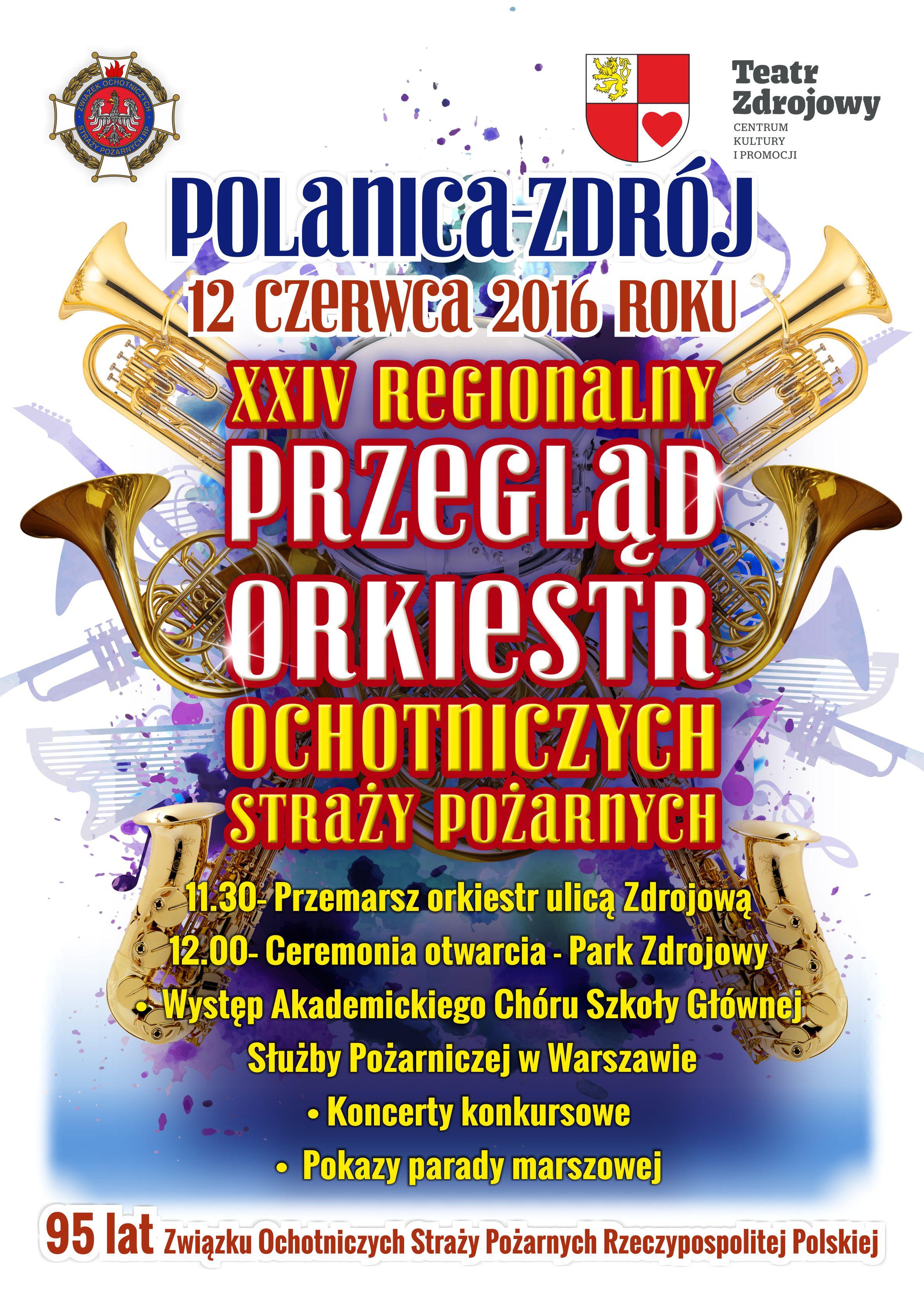 Plakat orkiestry OSP