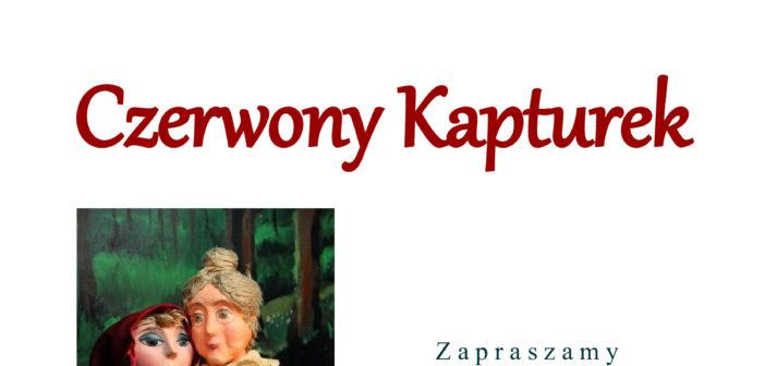 Czerwony Kapturek – spektakl dla najmłodszych